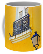 Yellow Building Coffee Mug