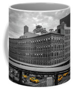 Yellow Cabs In Chelsea, New York 3 Coffee Mug