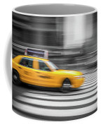 Yellow Cabs In New York 6 Coffee Mug