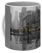 Yellow Cabs New York Coffee Mug by Andrew Fare