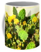 Yellow Cactus Blossoms 594 Coffee Mug