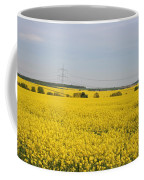 Yellow Canola Field Coffee Mug