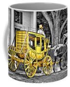 Yellow Carriage Coffee Mug