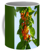 Yellow Cherries Coffee Mug