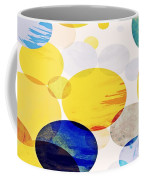 Yellow Circles Coffee Mug