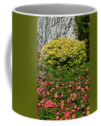 Yellow Coleus And Lantana At Pilgrim Place In Claremont-california Coffee Mug