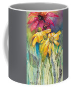 Yellow Coneflower Coffee Mug