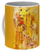 Yellow Conundrum Coffee Mug