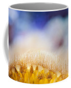 Yellow Coral Reef Macro Coffee Mug