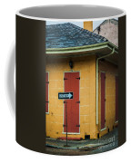 Yellow Cottage French Quarter- Nola Coffee Mug