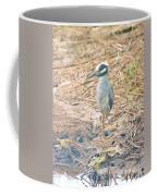 Yellow Crowned Night Heron Along The Tidal Creek Coffee Mug