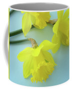Yellow Daffodils Artwork Spring Flowers Art Prints Nature Floral Art Coffee Mug