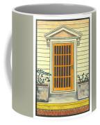 Yellow Door In Panama Coffee Mug