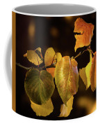 Yellow Fall Leaves Coffee Mug