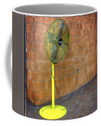 Yellow Fan Coffee Mug