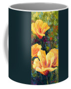 Yellow Field Poppies Coffee Mug