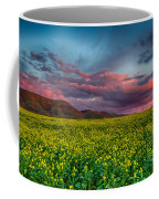 Yellow Fields Forever Coffee Mug by Beth Sargent