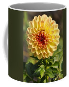 Yellow Flora Coffee Mug