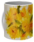 Yellow Floral Coffee Mug