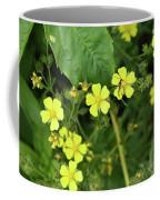 Yellow Flower And A Black Bug  Coffee Mug