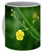 Yellow Flower Buttercup Coffee Mug