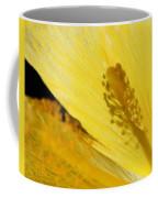 Yellow Flower - Hibiscus Shadow - Sharon Cummings Coffee Mug