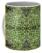 Yellow Flower Mandala 2 Coffee Mug