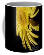 Yellow Gerbera Daisy By Kaye Menner Coffee Mug