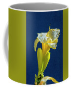 Yellow Glue Blue #f9 Coffee Mug