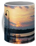 Yellow Gold Sunset Tapestry Coffee Mug