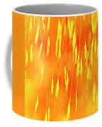 Yellow Grass Spikes Coffee Mug