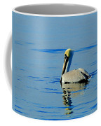 Yellow Headed Pelican Coffee Mug