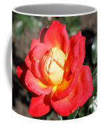 Yellow Heart Rose Coffee Mug