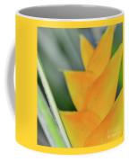 Yellow Heliconia - Hawaii Plants Flowers  Coffee Mug