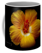 Yellow Hi Coffee Mug
