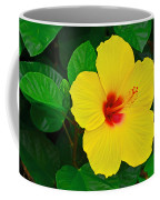 Yellow Hibiscus 3388 Coffee Mug