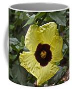 Yellow Hibiscus F134 Coffee Mug