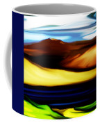 Yellow Hills Coffee Mug