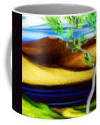 Yellow Hills Revisited Coffee Mug