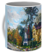Yellow House Coffee Mug