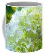 Yellow Hydrangea Flowers Art Prints Baslee Troutman Coffee Mug