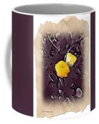 Yellow In Purple Coffee Mug