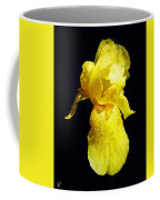 Yellow Iris After The Rain Coffee Mug