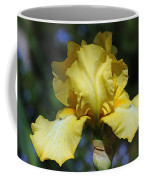 Yellow Iris Is For Passion Coffee Mug
