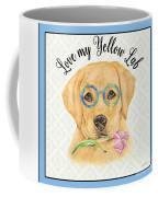 Yellow Lab-jp3869 Coffee Mug