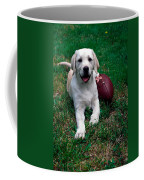 Yellow Labrador Retriever Puppy Coffee Mug