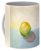 Yellow Lemon Still Life Coffee Mug