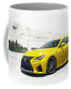Yellow Lexus4 Coffee Mug