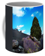 Yellow Lichen Coffee Mug