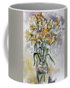 Yellow Lillies Coffee Mug